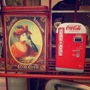 Coca Cola Collector Tins